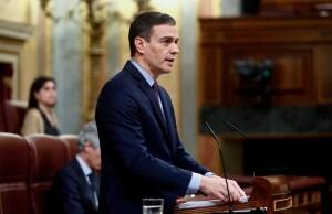Pedro Sánchez Congreso