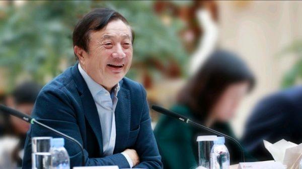 Ren Zhengfei en una conferencia