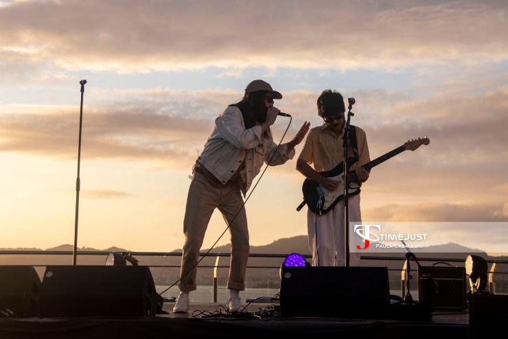 Carlos Sadness en el Festival terraceo de Vigo // Foto: Paula Cabaleiro