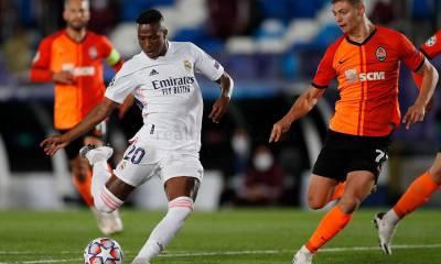 Vinícius marca el segundo gol