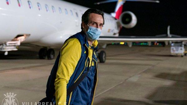 Unai Emery a su llegada a Sevilla. / Fuente: @VillarrealCF