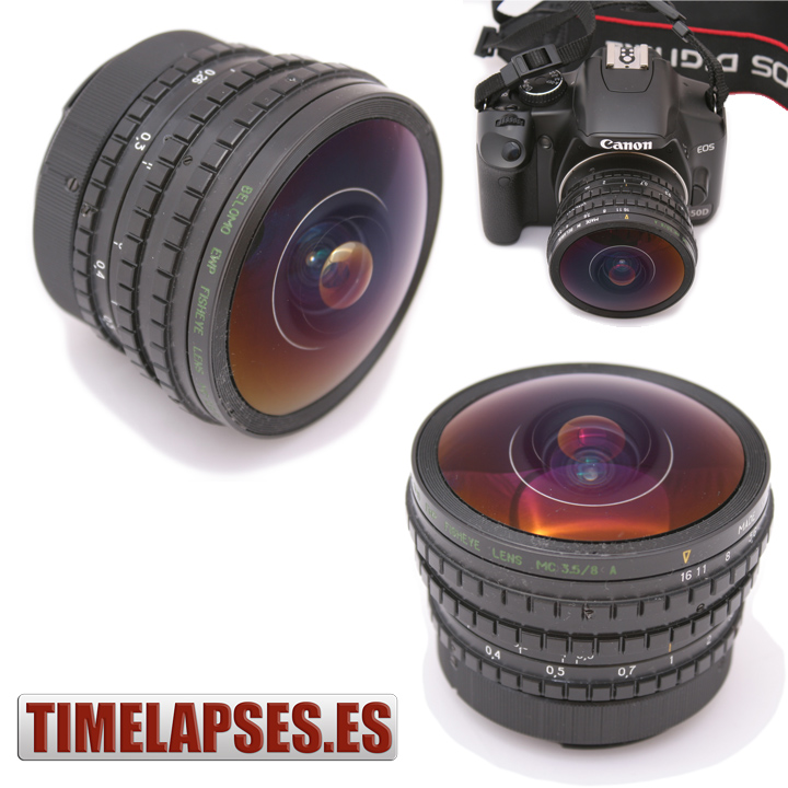 REVIEW de PELENG 8mm F3.5 FishEye