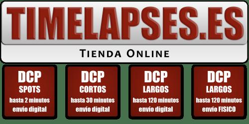 Nueva Tienda Online en Timelapses.es