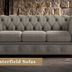 Fabric Sofas Uk Cheap Futon Sofa Beds Chesterfield Timeless Chesterfields