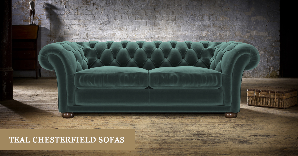 teal sofas chesterfeild sofa chesterfield handmade in britain timeless chesterfields shop our stylish range of here at this vivid modern shade will really make a statement so it s ideal if you