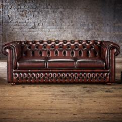 Chesterfield Sofa Bed Cream Fabric Corner Uk 3 Seater From Timeless Chesterfields Zoom