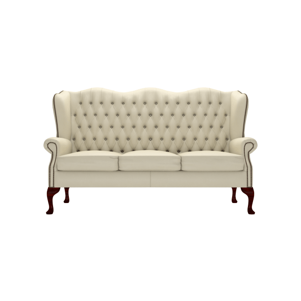 sofa classic extra small sectional 3 seater from timeless chesterfields uk
