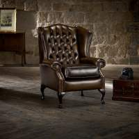 Classic Chair in Antique Gold - from Timeless Chesterfields UK