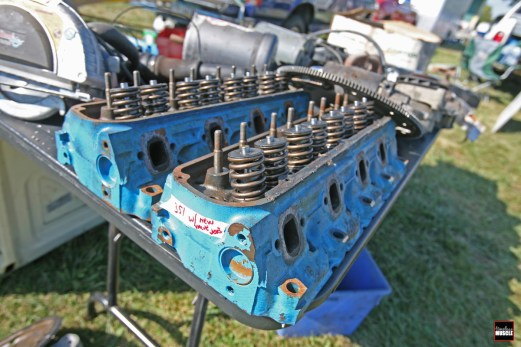 ...or these from a classic Ford 351, you can find just what you need from a swap meet. It also allows you to inspect the smaller components, such as the valves and valvesprings closer.