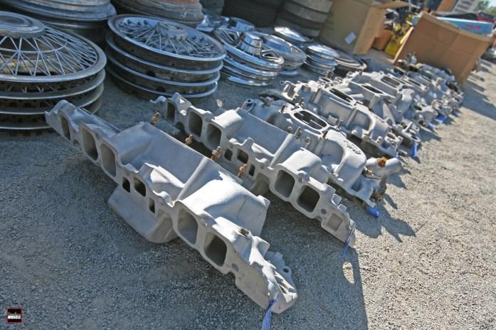 Intake manifolds, hubcabs...