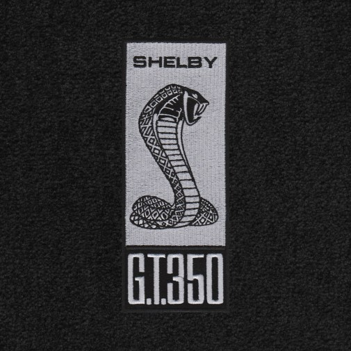 Lloyd Mats Adds New Gt350 Logos To Its Full Line Of Shelby Licensed Floor Mats - Shelby Sidemarker 1965 - 70 & 2013 - 14