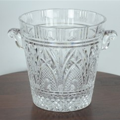 Rooster Kitchen Accessories Farmer Sink Shannon 24 Percent Lead Crystal Ice Bucket