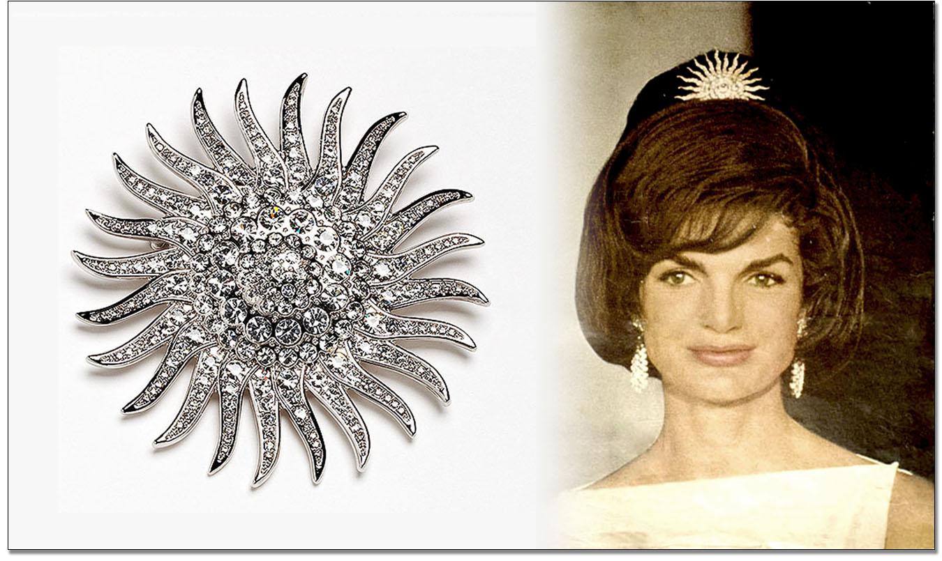 Jackie Kennedy Sunburst Pin Hairstyle Inspirations 2018
