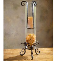 Pictured here is the Wrought Iron Siena Floating Candle ...