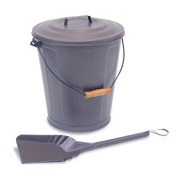Ash Buckets For Fireplaces vintage metal ash tin fireplace ...