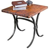 "Pictured here is the Salisbury End Table with 24"" Square ..."