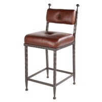 Forest Hill Wrought Iron Counter Stool | 25-in. Seat Height