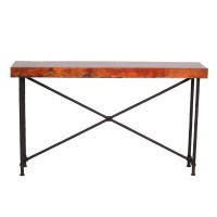 Wrought Iron Burlington Console Table Base Only by Mathews ...