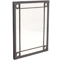 Oxford Small Mirror by Charleston Forge