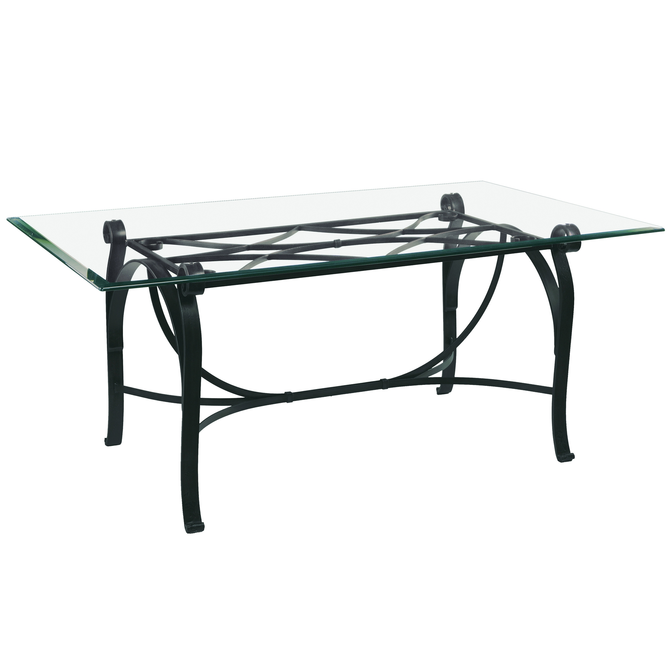 Pictured Is The Camino Dining Table With Custom Iron