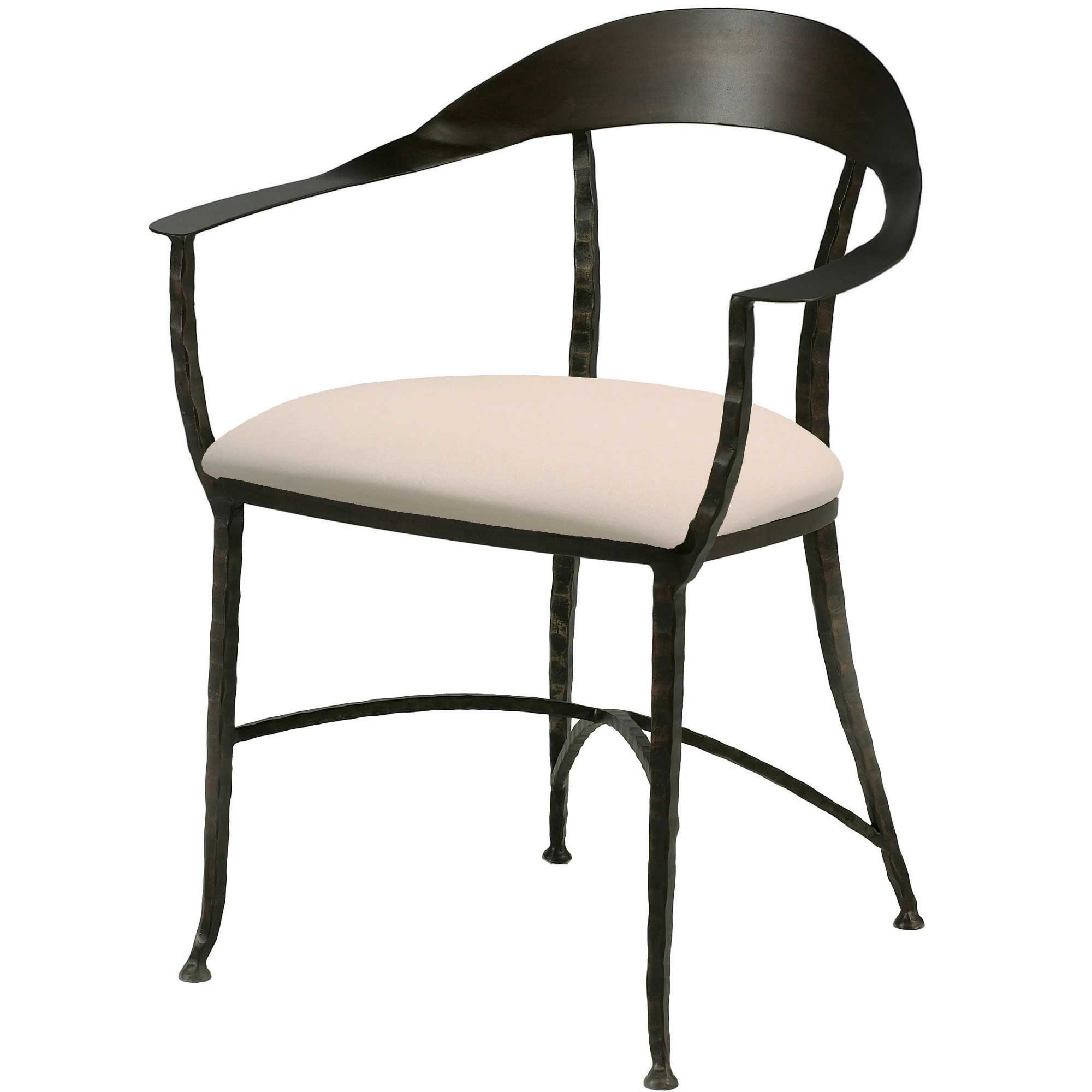 wrought iron dining chairs convert aeron chair to stool hudson wrap charleston forge
