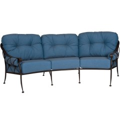 Wrought Iron Sofa Set Online Linen Covers Nz Pictured Is The Derby Crescent From Woodard Outdoor