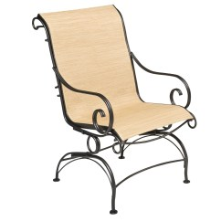Springs For Dining Chairs Eddie Bauer High Chair Replacement Cover Pictured Is The Terrace Sling Coil Spring