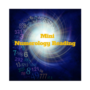 Mini Numerology Reading 500by500