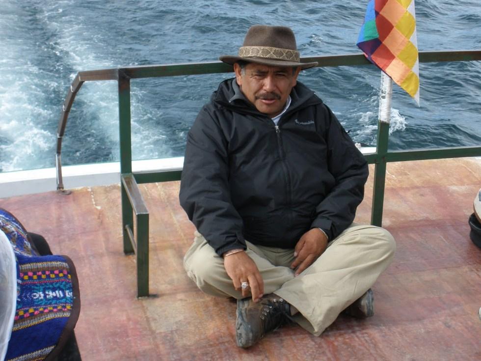 Our shaman guide on this adventure, Jorge Luis Delgado