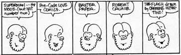 a comic strip about comics from fred hembeck