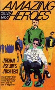 Grant Morrison in 1990 by Steve Yeowell