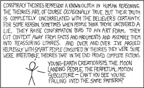panels from webcomic xkcd