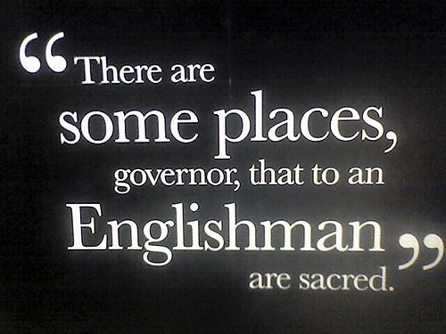 There Are Some Places...
