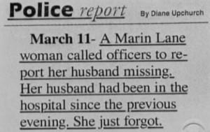 she just forgot...