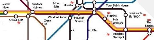 Central London Tubemap For Tourists