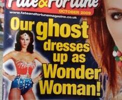 our GHOST dresses up as WONDER WOMAN!