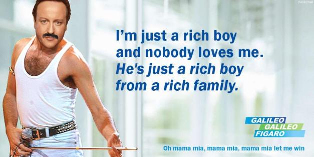 David Cameron - He's Just A Rich Boy...