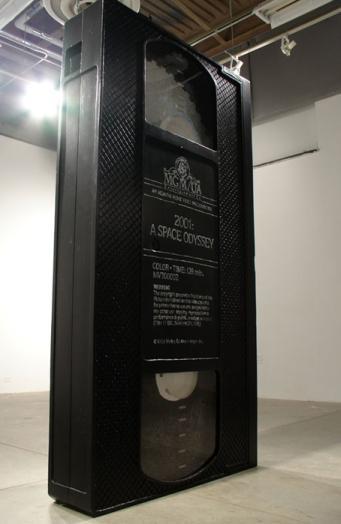 2001 VHS Tape Monolith
