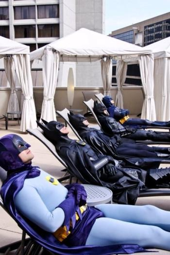 Batmen Reclining