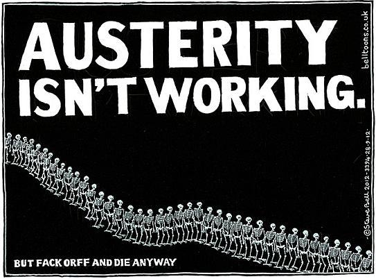 Steve Bell - Austerity Isn't Working