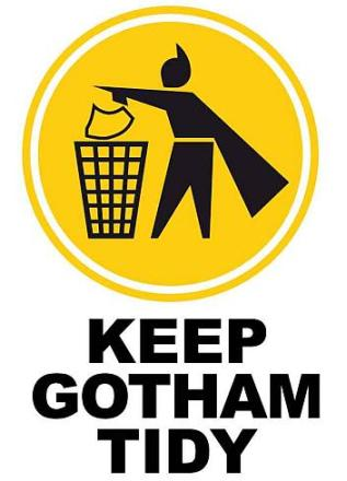 A Keep Gotham Today Poster