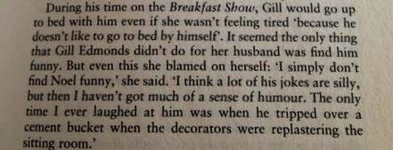 Excerpt from Noel Edmonds Biography