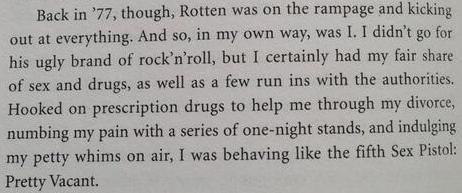 Excerpt from Tony Blackburn's Autobiography