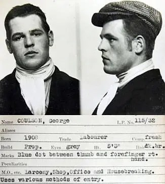 George Coulson Criminal