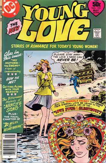Walt Simonson Young Love #125 Cover