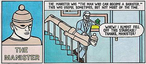 Michael Kupperman's The Manister