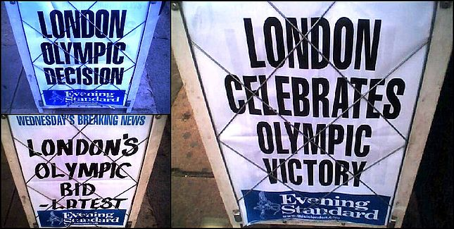 Evening Standard Olympic Decision