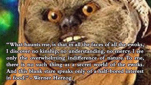 Hertzog on Ewoks