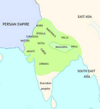 Ancient India At The Time Of The Buddha And Rebirth Of Urban