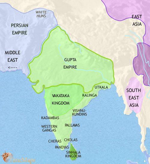 Gupta Empire | history of Haridwar, Uttarakhand